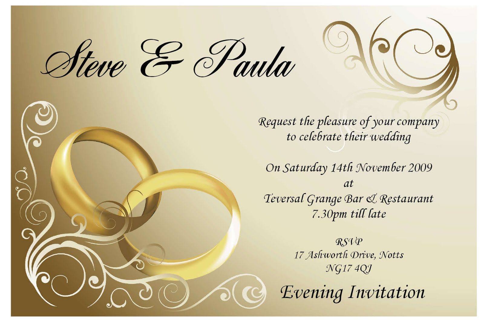 Wedding Celebration Invitation: Best Ideas For Wedding Invitation
