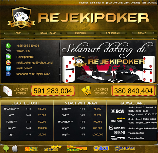 Situs Agen Poker Domino Dan Capsa Susun Line Terpercaya Indonesia