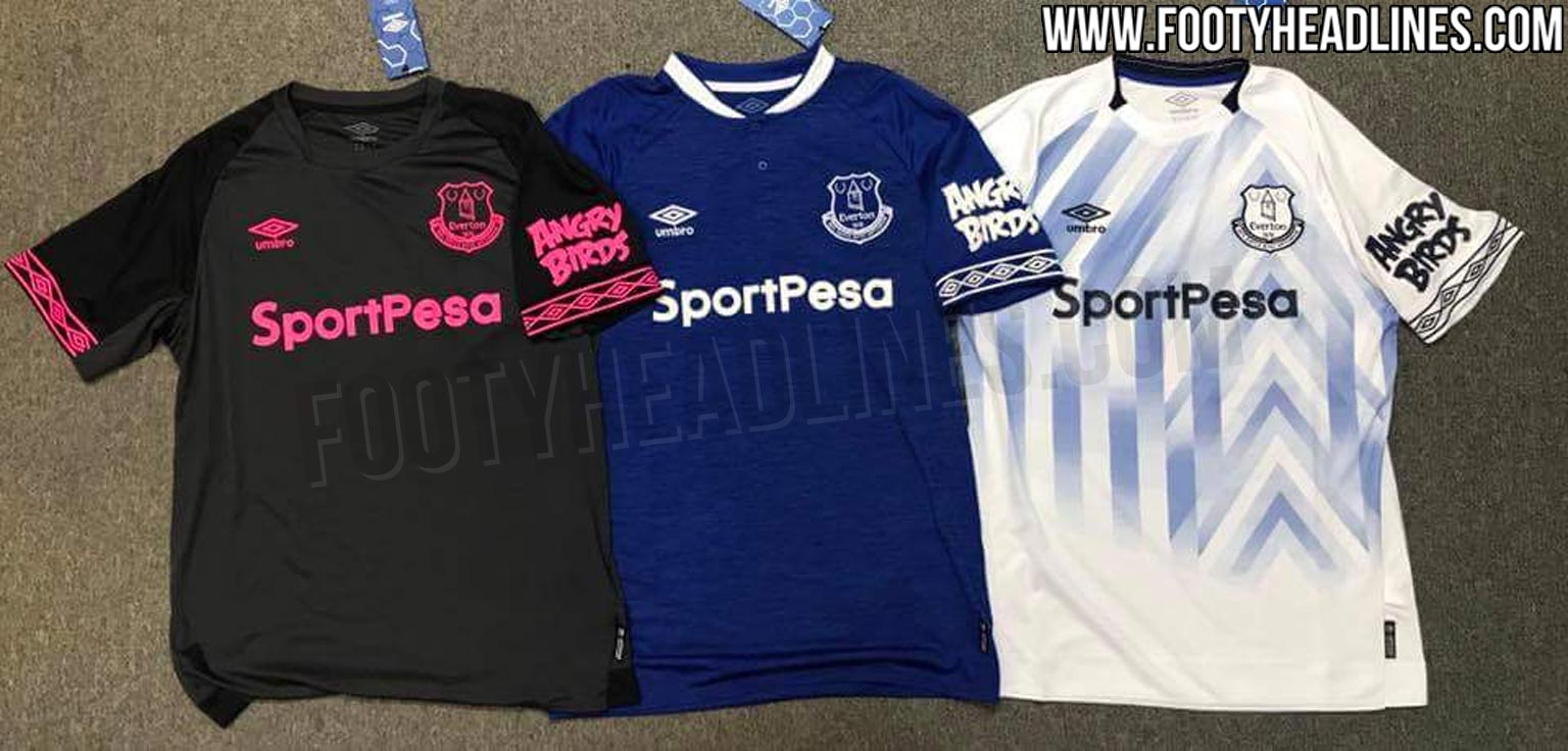 more photos 40b80 23e06 Outstanding Everton 18-19 Away & Third Kits Revealed ...