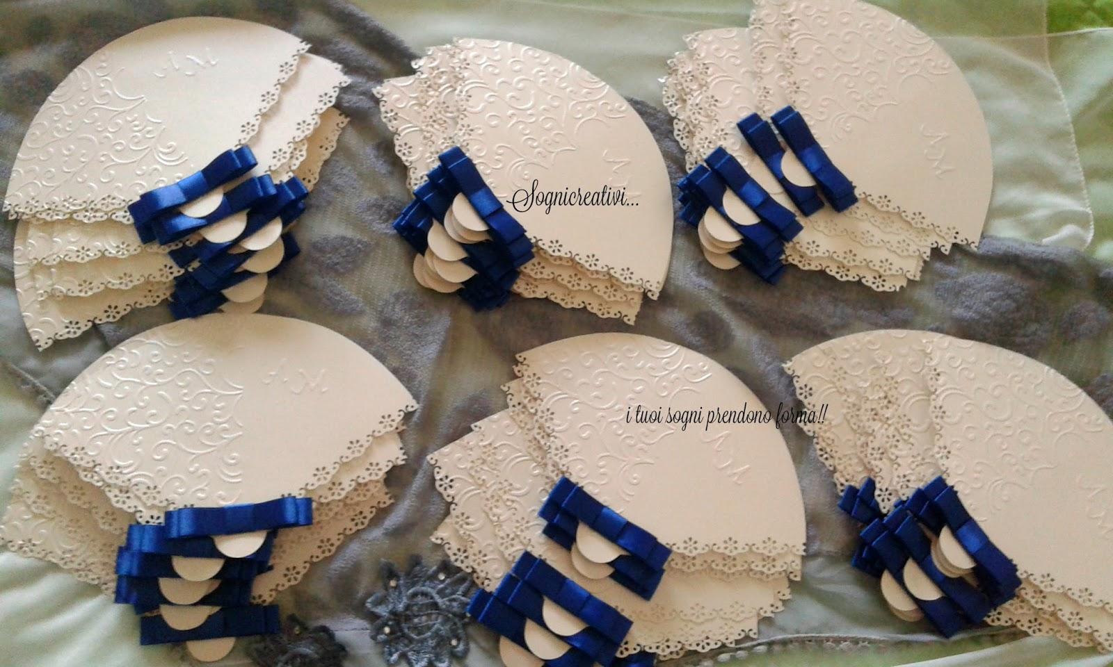 Popolare Partecipazioni Sognicreativi Wedding and Events: Ventagli  TS15
