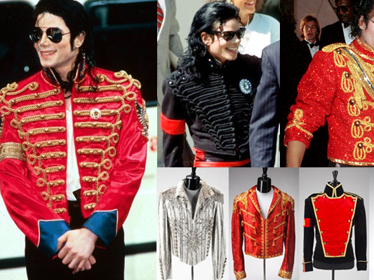 Military Jacket Look Inspired by MICHAEL JACKSON