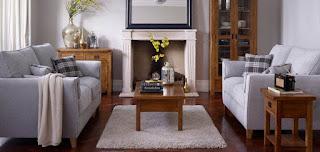 Ukuran furnitur pada masing-masing ruangan sesuai ukuran ruangan