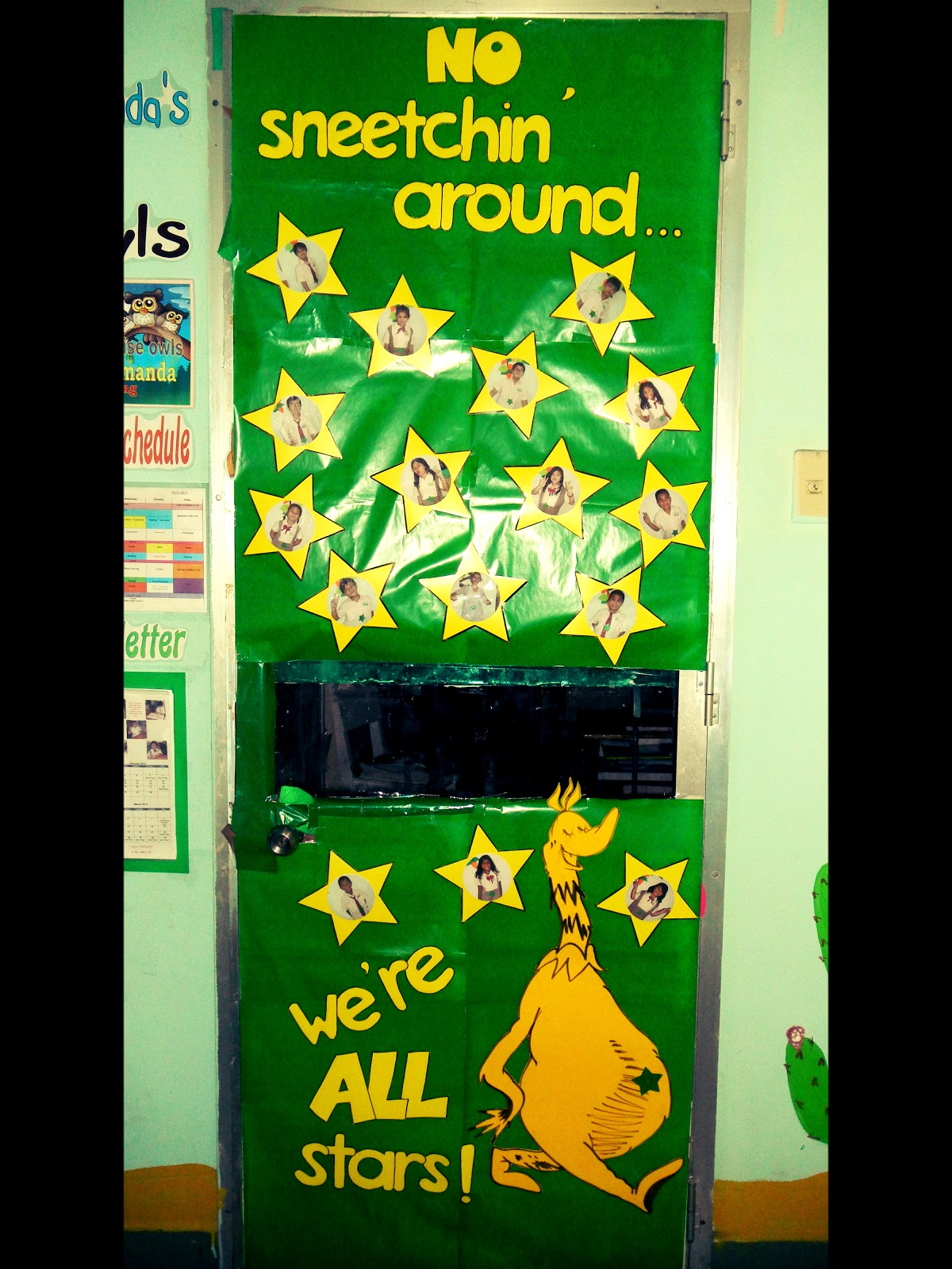 The Cultural Classroom: Seuss-tastic Door Decor