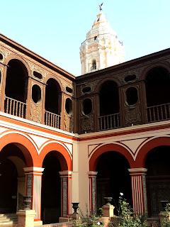 Claustro do Convento e Iglesia de Santo Domingo, em Lima