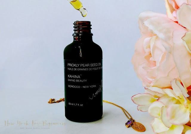 Kahina Prickly Pear Seed Oil Ecocert certified review at New York For Beginners