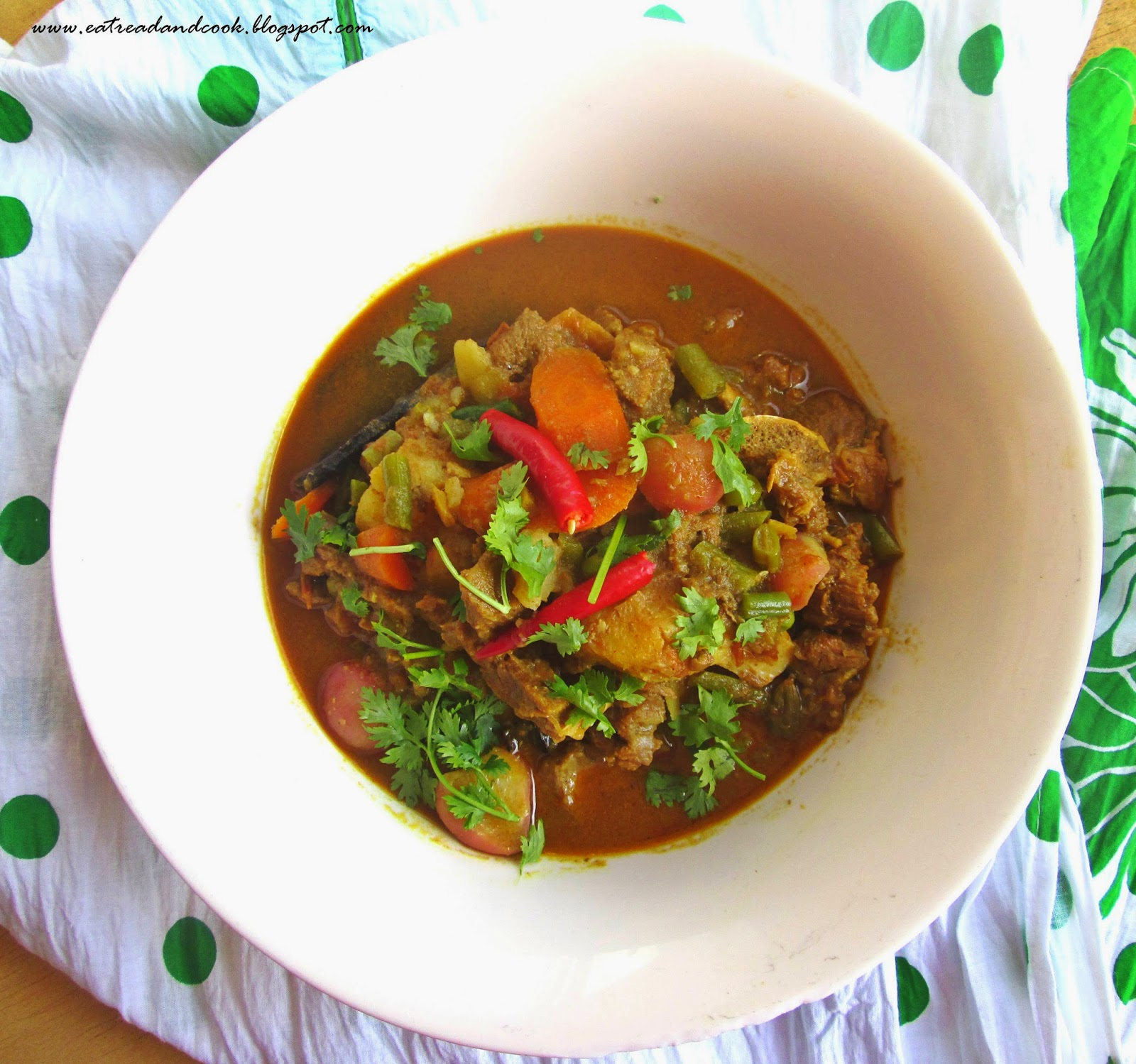 how to cook healthy and tasty mutton stew with low spices