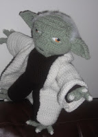 PATRON YODA (STAR WARDS) AMIGURUMI 1820