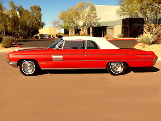 1962 Oldsmobile 98 Luxury Convertible Side