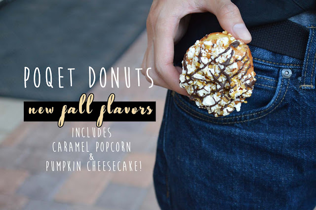 New Fall Flavors You Donut Want to Share With Anyone Else @ Poqet Donuts - Irvine