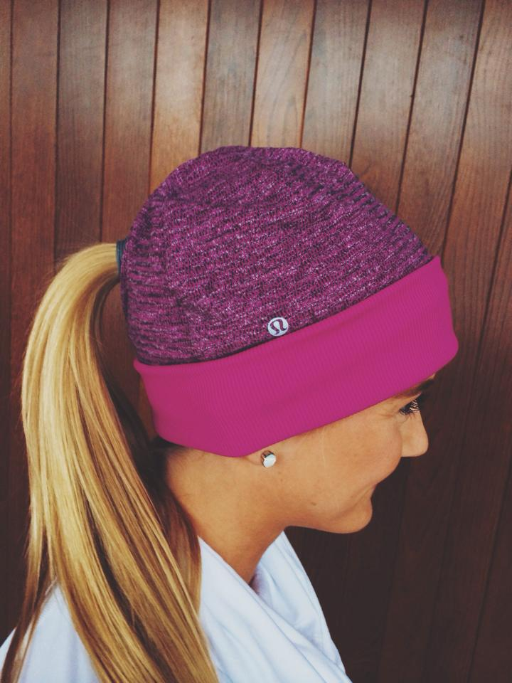 lululemon run with me toque