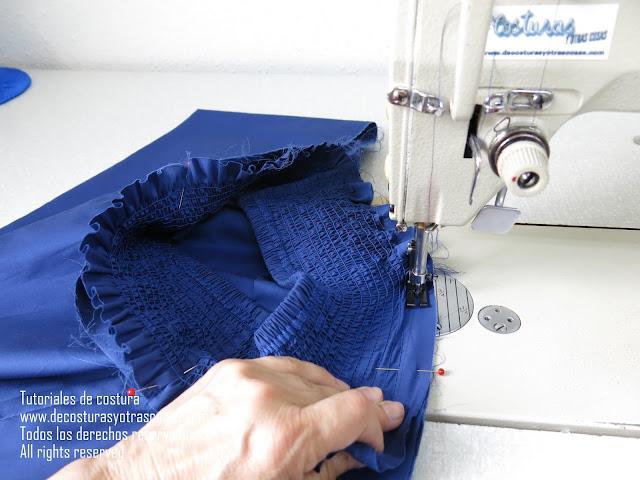 como hacer una falda engomada para niña