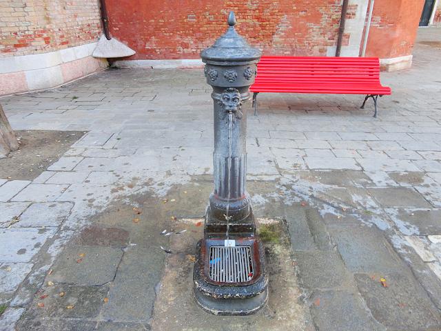 Nebojte se pít v Benátkách vodu z fontán