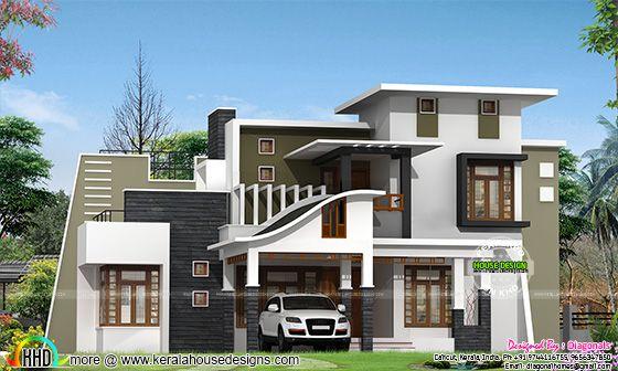 Contemporary mix modern home