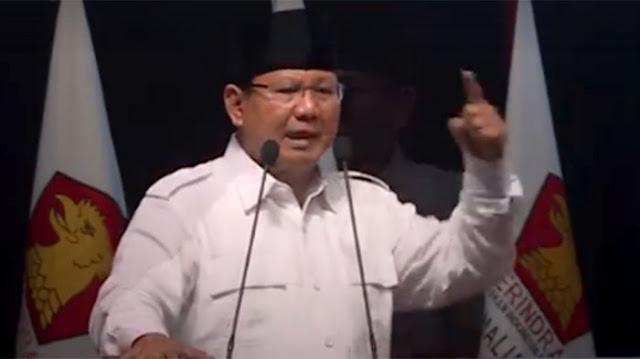 Prabowo: Kita tak Antiasing, Tetapi Jangan Terlalu Lugu