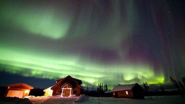 Best Aurora picture at Northern Lights Resort & Spa, Whitehorse, Canada