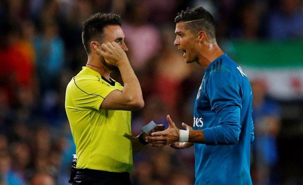 الاتحاد الإسباني يثبّت عقوبة إيقاف رونالدو 5 مباريات