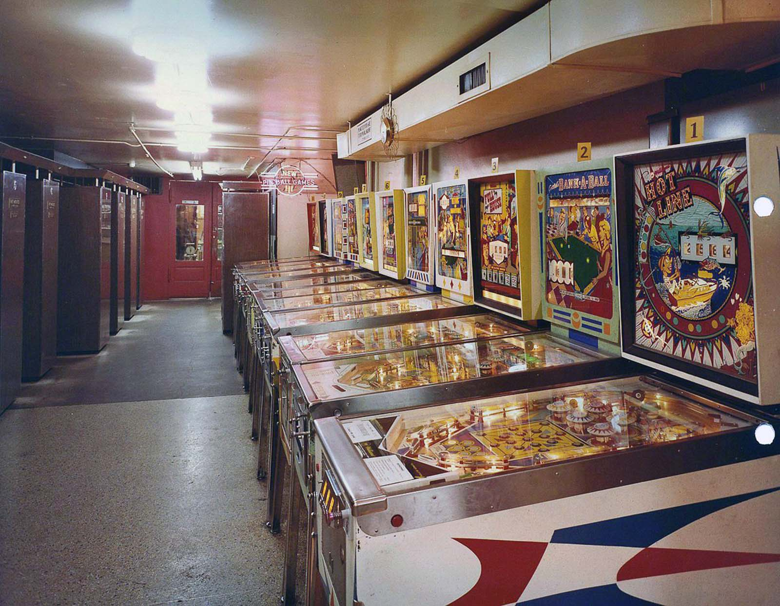 The arcades were so popular that many food chains started adding in coin operated arcade machines in their restaurants, like Chuck E. Cheese's and Dave and Busters.