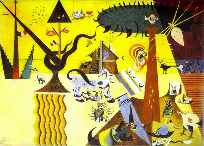 O Campo Lavrado - Miró, Joan e suas principais pinturas