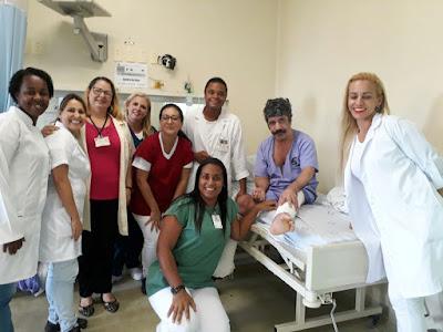 Equipe do HRLB/CONSAÚDE foca na desospitalização e consegue uma nova vida para paciente