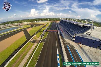 Chang International Circuit - Salika Travel - 4H3M Thailand Moto GP 2018