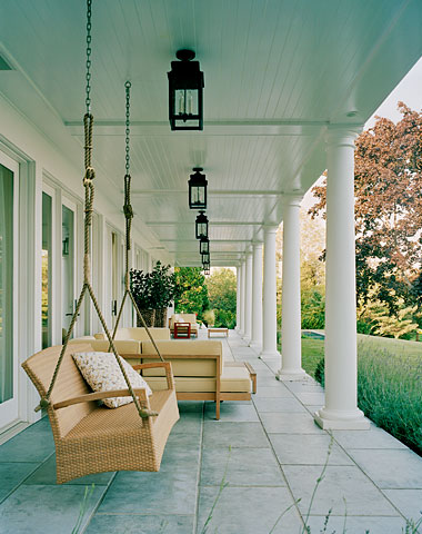 Things I Love Blue Porch Ceilings