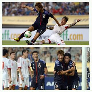 サッカー東アジアカップ