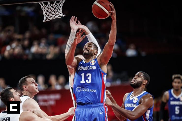 República Dominicana clasifica al derrotar a Alemania en mundial de baloncesto