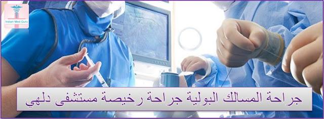 جراحة المسالك البولية جراحة رخيصة دلهي