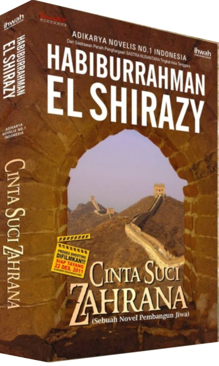 Ebook Novel Cinta Suci Zahrana
