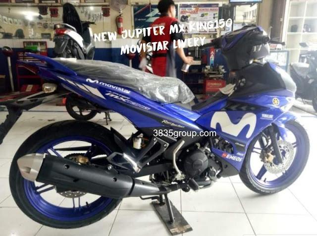 New Jupiter MX King 150 Livery Movistar MotoGP 2019