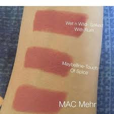 mac mehr dupe in india