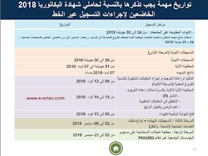تاريخ انطلاق التسجيلات الجامعية الأولية وملأ بطاقة الرغبات 2019-2018