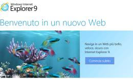 Scaricare internet explorer 9