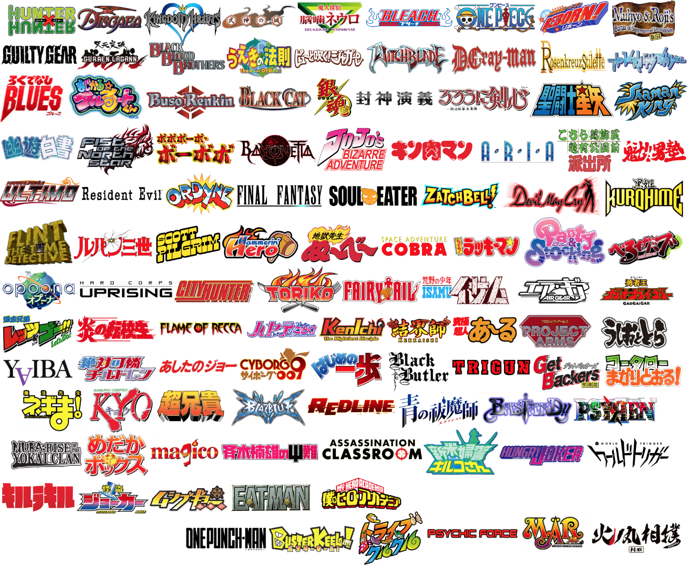 super justin the blog anime logos hard mode