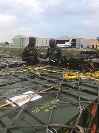 Army Receives Large Consignment Of Ammunition (Photos)