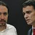 Pablo Iglesias y Pedro Sánchez protagonizan un desencuentro en Twitter