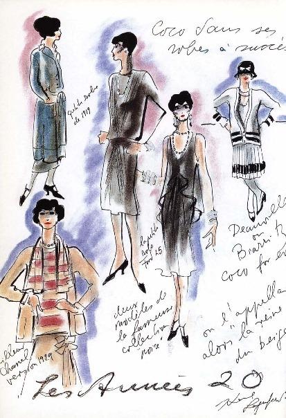 Coco Chanel Siglo Xx Los Disenos Y El Estilo De Chanel