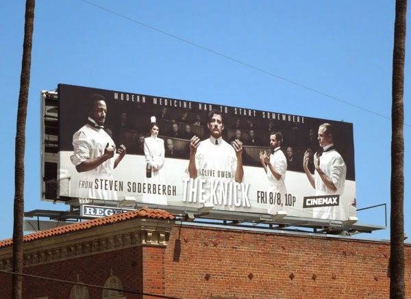 The Knick season 1 billboard