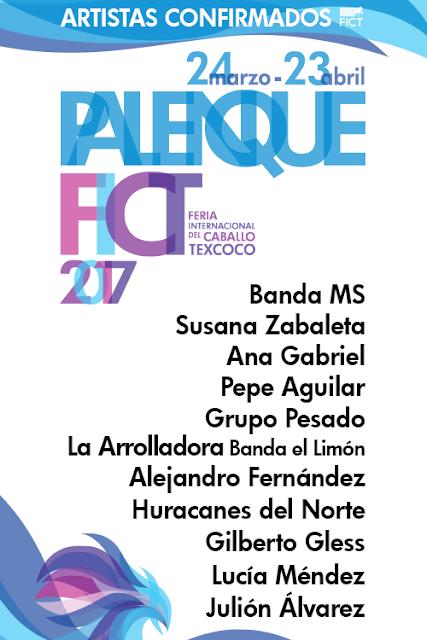palenque feria del Caballo texcoco 2017