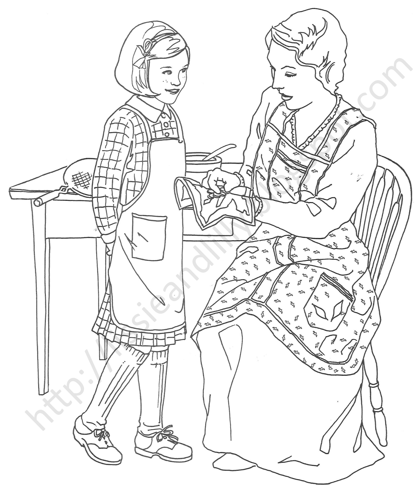 makayla coloring pages - photo#25