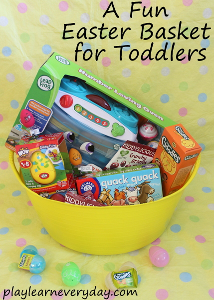 A Fun Easter Basket for Toddlers Play and Learn Every Day