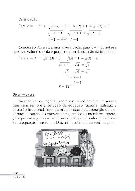Equações Irracionais