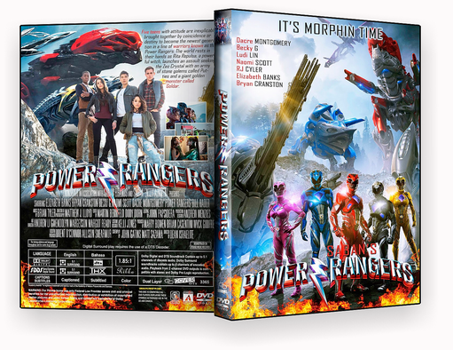 CAPA DVD – Power Rangers DVD-R