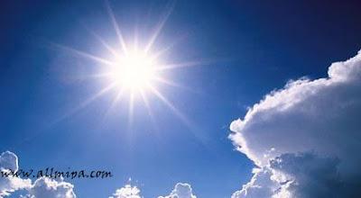 Intensitas cahaya matahari