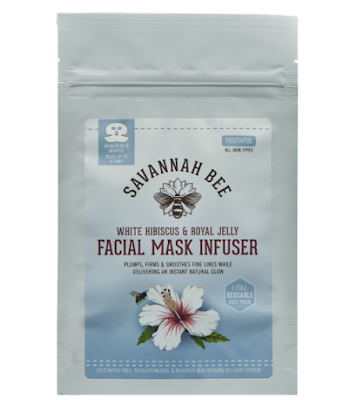 Savannah Bee White Hibiscus & Royal Jelly Facial Mask Infuser