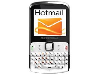 motorola ex 112 hotmail