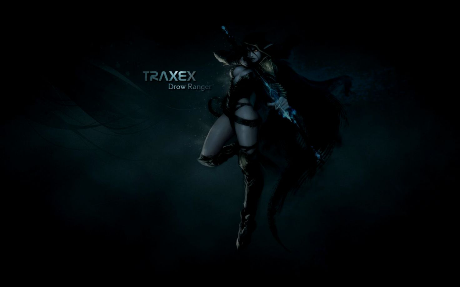 Traxex Drow Ranger Hd Wallpaper Wallpapers Supreme