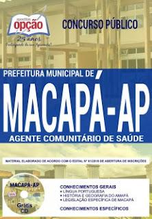 Apostila Prefeitura Municipal de Macapá - Agente Comunitário de Saúde
