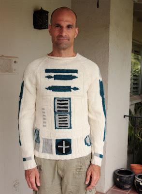 Suéter tejido de R2-D2