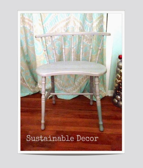 Dipped Furniture Legs: Sustainable Decor: Dipped Leg Chair: Upcycling Furniture
